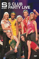 ITS IT'S AN S CLUB 7 SEVEN PARTY LIVE DVD Music Video Concert UK New Sealed R2