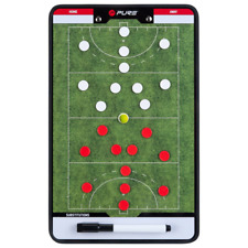 New listing Pure2Improve Double-sided Coach Tactics Board Field Hockey 35x22 cm