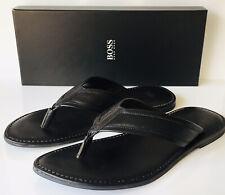 HUGO BOSS Leather Sandals \u0026 Flip Flops