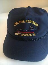LONE STAR  RESPONDER VESSEL BALL CAP, PORT ARKANSAS,TX