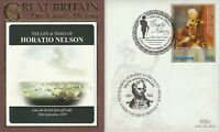 2008 LIFE & TIMES OF HORATIO NELSON JOINS BRITISH FLEET OFF CADIZ BENHAM COVER