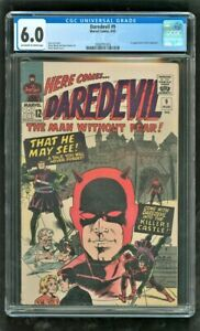 CGC 6.0 DAREDEVIL #9 MARVEL COMICS 1965 1ST APPEARANCE OF THE ORGANIZER