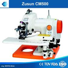 Tragbare Blindstichmaschine ZUSUN CM500 Saummaschine mit eingebautem Motor