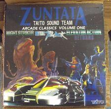 ZUNTATA Arcade Classics Vol. 1 LP SEALED Ship To Shore Night Striker Metal Black