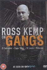 ROSS KEMP ON GANGS El Salvador Cape Town Moscow DVD OOP REGION 2