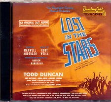 LOST IN THE STARS The Original Cast Album Hard to Find on CD  CD
