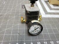 Bellofram type 10-B Pressure Regulator Range 2-25PSI  150PSI Max input [C2S4]