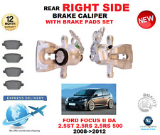FOR FORD FOCUS II DA 2.5 ST RS 500 2008-2012 REAR RIGHT BRAKE CALIPER WITH PADS