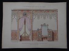 PLANCHE 3 DECORATION PICTURALE 1900 DUCHATEL Art nouveau Jugendstil no Mucha