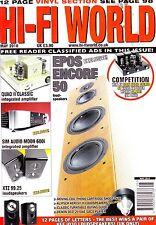 HI-Fi World magazine with Quad II Classic  Technics ST9600   May  2010