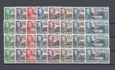 Falkland Island Dependencies 1944-45 SG A1/D8 MNH Cat £96