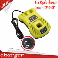 Battery Charger for Ryobi 14.4V-18V Ni-Cd Ni-MH Li-ion Lithium-ion 110V-240V AU