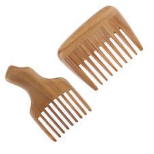 Peigne en bois large brosse peigne démêlant peigne sans Styles 2 Styles 2