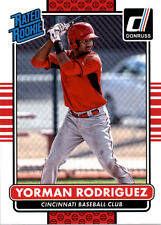 2015 Donruss #42 Yorman Rodriguez RC Rookie Reds