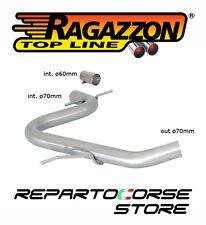 RAGAZZON TUBO CENTRALE VOLKSWAGEN GOLF VI 6 2.0 GTI TSI 155kW 211 CV ø70mm 09->