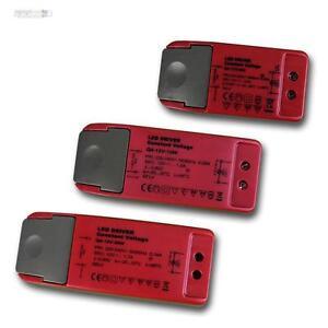LED Vorschaltgeräte 12 Volt, 6/12/20W 12V DC, Trafo Transformatore EVG Drossel