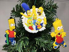 The Simpsons Christmas Ornaments 6 Piece Set