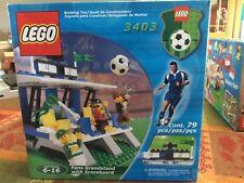 BRAND NEW! FACTORY SEALED! Lego SPORTS SOCCER 3403 FAN GRANDSTAND W/SCOREBOARD