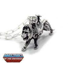 Masters of the Universe Battle Cat Cringer 925 Silver Necklace Pendant + Chain