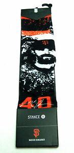 MADISON BUMGARNER Stance Splatter #40 MEDIUM 6-8.5 San Francisco SF Giants Sock