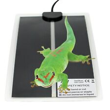 7W Reptile Brooder Incubator Heat Mat Pet Animal Heating Warm Pad Heater 15x28cm