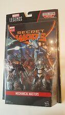 Marvel Legends Secret Wars Mechanical Masters Machine Man/IronMan Action Figures