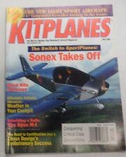 Kitplanes Magazine Sonex Takes Off & Black Hills June 2002 070915R