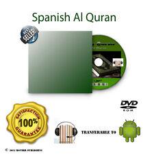 Spanish Koran Alquran Al quran Audio Book No citation Pure Translation Mp3 DVD