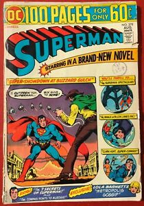 SUPERMAN # 278 DC Comics 100 Pages, AUG 1974