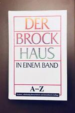 DER BROCKHAUS in einem Band A-Z / TIP TOP / VK 25 €