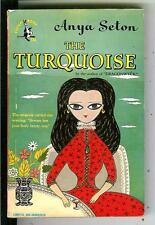 THE TURQUOISE by Seton, Pocket #534 1st cartoon cover VARIANT pulp vintage pb
