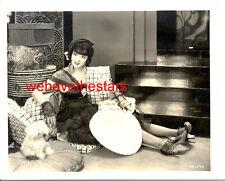 Vintage Colleen Moore GORGEOUS ART DECO GLAMOUR '26 IRENE Publicity Portrait
