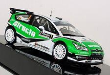 Ixo 1/43 Scale -RAM508 Citroen C4 WRC #1 Rally De Wallonie '11 Diecast Model Car