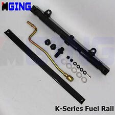 High Volume Fuel Rail Kit For Honda 02-06 Acura RSX Civic K20Z1 K20 K20A2 Black
