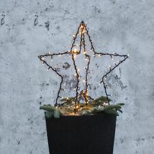 LED Silhouette 3 D Stern Adventstern Weihnachten Garten 90 LED`s Outdoor IP44