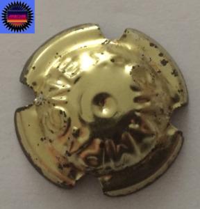 Capsule Générique Grosses Lettres E étroit Grosse étoile pointe en Bas Or n°160v