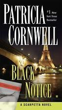 Black Notice by Patricia Cornwell (2008, Paperback)