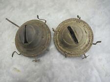 2 Vintage P & A Eagle Kerosene Oil Lamp Burner Parts