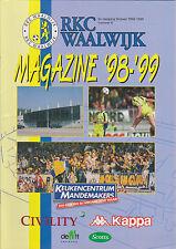 RKC Waalwijk Presentatiegids Magazine 1998-1999