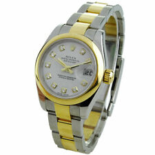 ROLEX LADY DATEJUST STAINLESS STEEL & GOLD AUTOMATIC WRISTWATCH 179163
