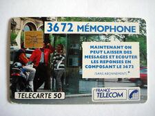 PHONECARD TELECARTE MEMOPHONE FRANCE TELECOM