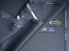 90% WOOL WORSTED 10% SILK SUITING FABRIC MADE BY Dormeuil -Summer Amadeus- 3.4 m