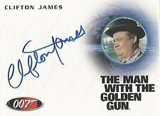 "James Bond 50th Anniversary - A200 Clifton James ""Sheriff Pepper"" Autograph Card"