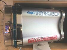 Condensatore 3.0 Farad, con voltometro, realizzato per fornire potenza PSC-95