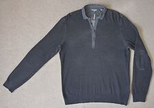 Ted Baker top, Size M (3), dark grey, long sleeve, excellent condition