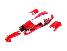 Rovan Baja Bodyshell - Red with Black For KM & HPI Baja 1/5th RC