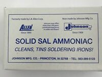 Sal Amoniac Stained Glass Soldering Iron Supplies Tinning Block 8oz CCI