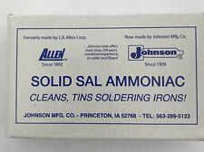Sal Amoniac Stained Glass Soldering Iron Supplies Tinning Block 8oz CCI
