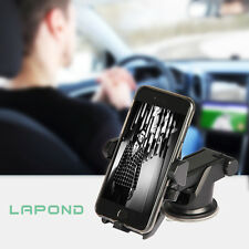 Universal Car Mount Adjustable Cradle with Strong Sticky Gel Pad for GPS iPhone