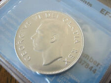 1949 Canada George VI SILVER 50 Cent (50¢) CCCS EF-40 Narrow Date